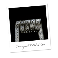 Corrugated Reliefed Coil (SS,NiCr)